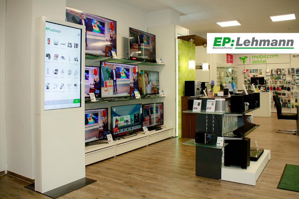 TV und HiFi-Systeme bei EP:Lehmann in Nauen