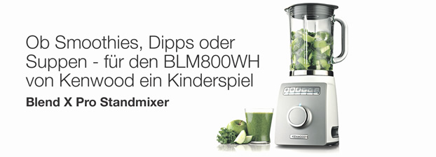 kenwood standmixer blend x pro electronicpartner deutschland. Black Bedroom Furniture Sets. Home Design Ideas